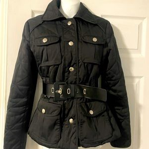 Zara quilted black jacket size S